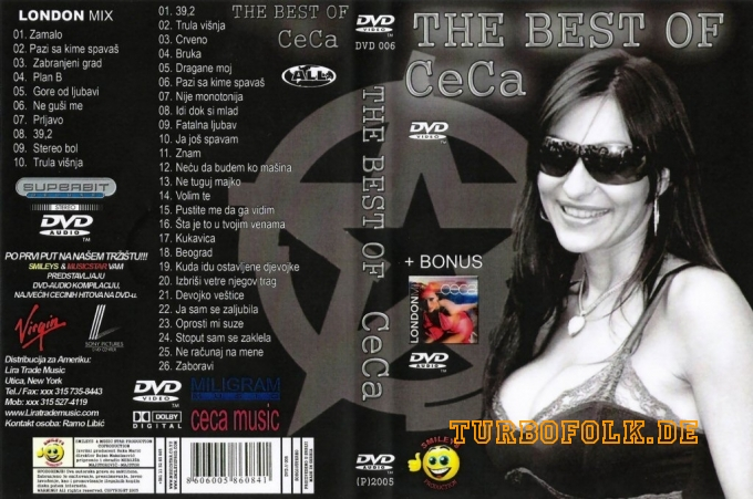 DVD Ceca The Best Of 1